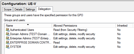 Group Policy Not Being Applied