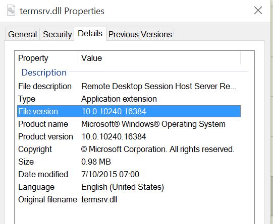 DeployHappiness | Concurrent Remote Desktop (CRDP) for Windows 10
